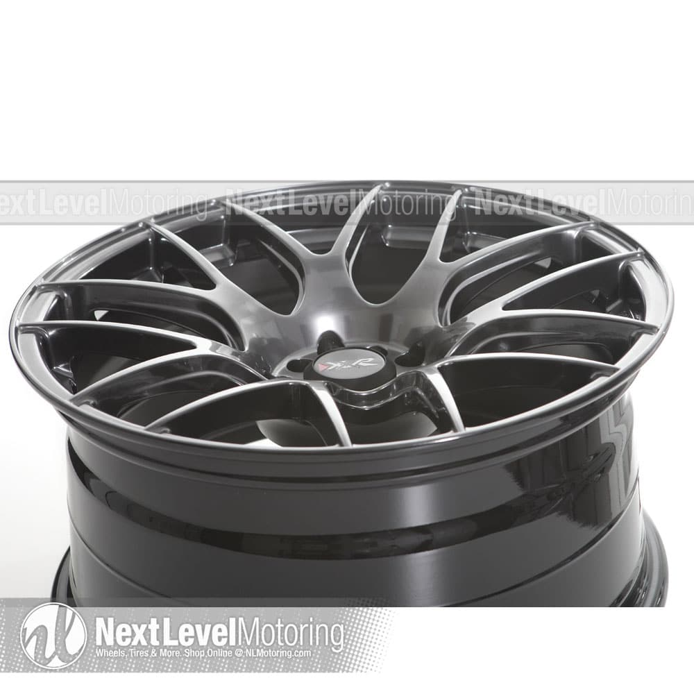 XXR Wheels 530 Gold Wheel with Painted Finish 18 x 8.75 inches //5 x 100 mm, 33 mm Offset