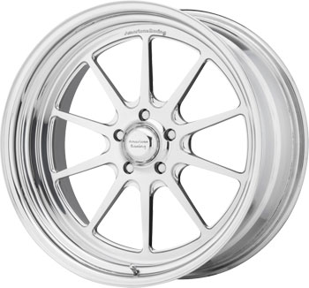 Example of a polished wheel