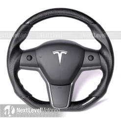 Tesla Model 3 Carbon Fiber OE Replacement Steering Wheel Replacement by Circuit Performance